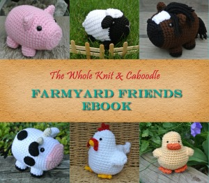 Farmyard Friends patterns, available on Ravelry and Craftsy now!
